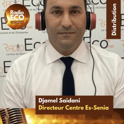 """Djamel Saidani - DG du Centre commercial d'Es-Senia - Oran I """"Massimo Dutti sera très bientôt chez nous"""" cover"""