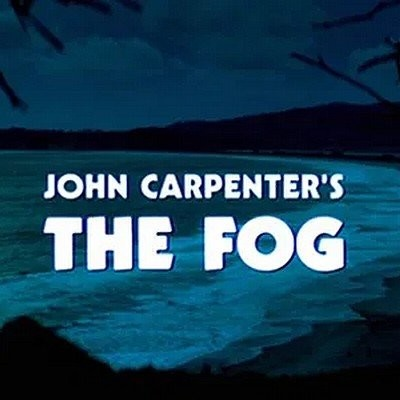 The Fog de John Carpenter cover