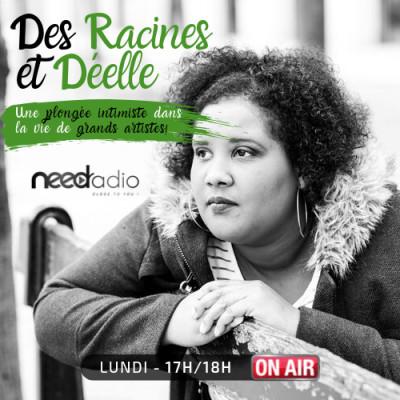 """image Des Racines et Déelle avec Mikael Bianic (animateur de """"Va Savoir"""" sur NEED Radio) (07/10/19)"""