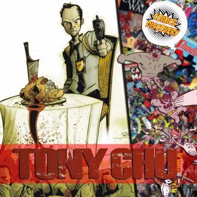 ComicsDiscovery S04E37 : Tony Chu cover