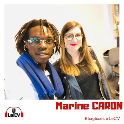 """#12. Marine Caron, """"Engagée, Passionnée et Déterminée"""""""