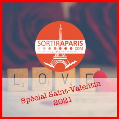 Que faire à Paris pour la Saint Valentin 2021 cover