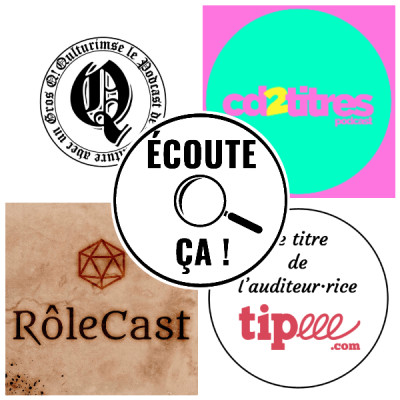 Ep 83 : Zikdepod S03E02 (Qulturimse, Rôlecast, CD2Titres, Stéphane (Tipeee)) cover