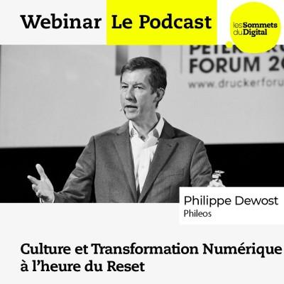 Culture et Transformation Numérique à l'heure du Reset avec Philippe Dewost cover