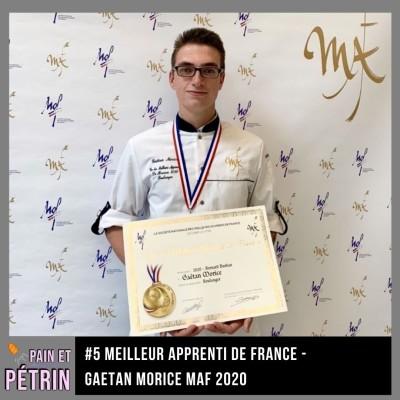 PAIN ET PETRIN #5 Le Concours MAF Meilleur Apprenti de France - Gaetan Morice cover