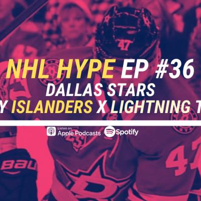 HYPEPODCAST #36 NHL :  DALLAS EN FINALE - LES ISLANDERS PEUVENT-ILS LE FAIRE cover