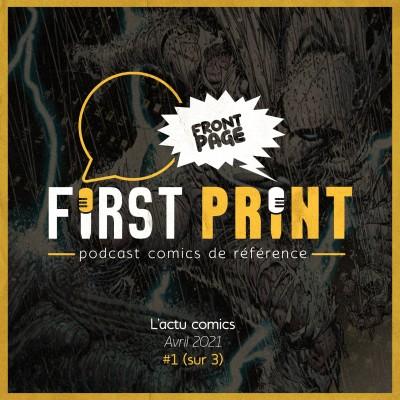 Front Page : l'actualité comics d'avril 2021 #1 (sur 3) ! cover