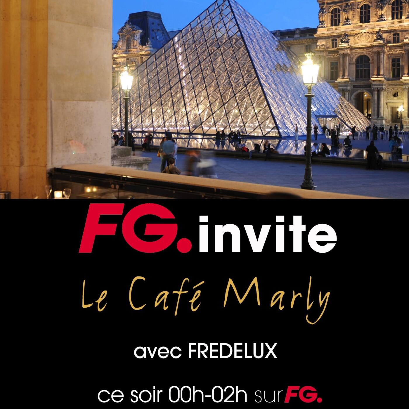 FG INVITE : LE CAFE MARLY