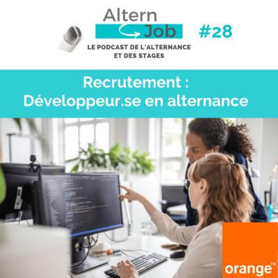 Orange recrute des Développeurs.ses en alternance - EP28 cover