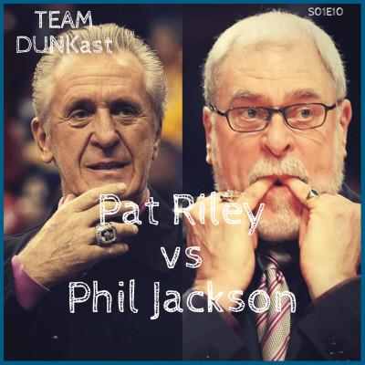 image Team Dunkast - Phil Jackson Vs Pat Riley