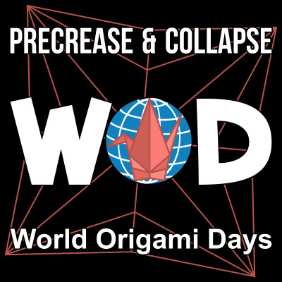 World Origami Days - The Amelia Project - Fredrik Skaare Baden cover