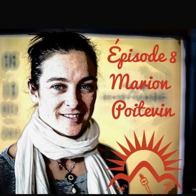 """Episode 8 - Marion Poitevin, une femme en montagne """"lead the climb"""" cover"""