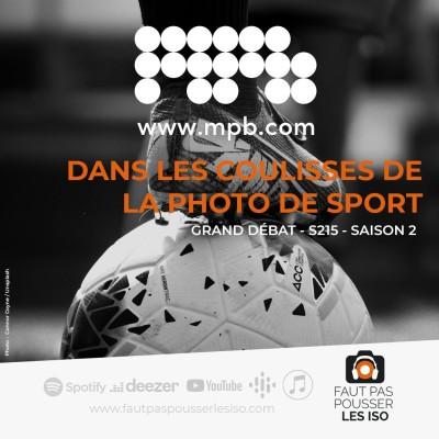 GRAND DÉBAT - S215 - Dans les coulisses de la photo de sport cover