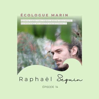 Raphaël Seguin, écologue marin : les liens entre sociétés humaines et récifs coralli cover