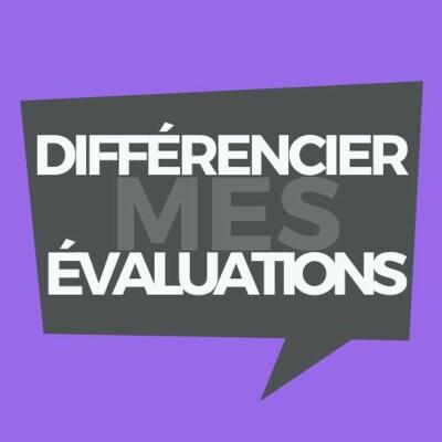 Différencier mes évaluations cover
