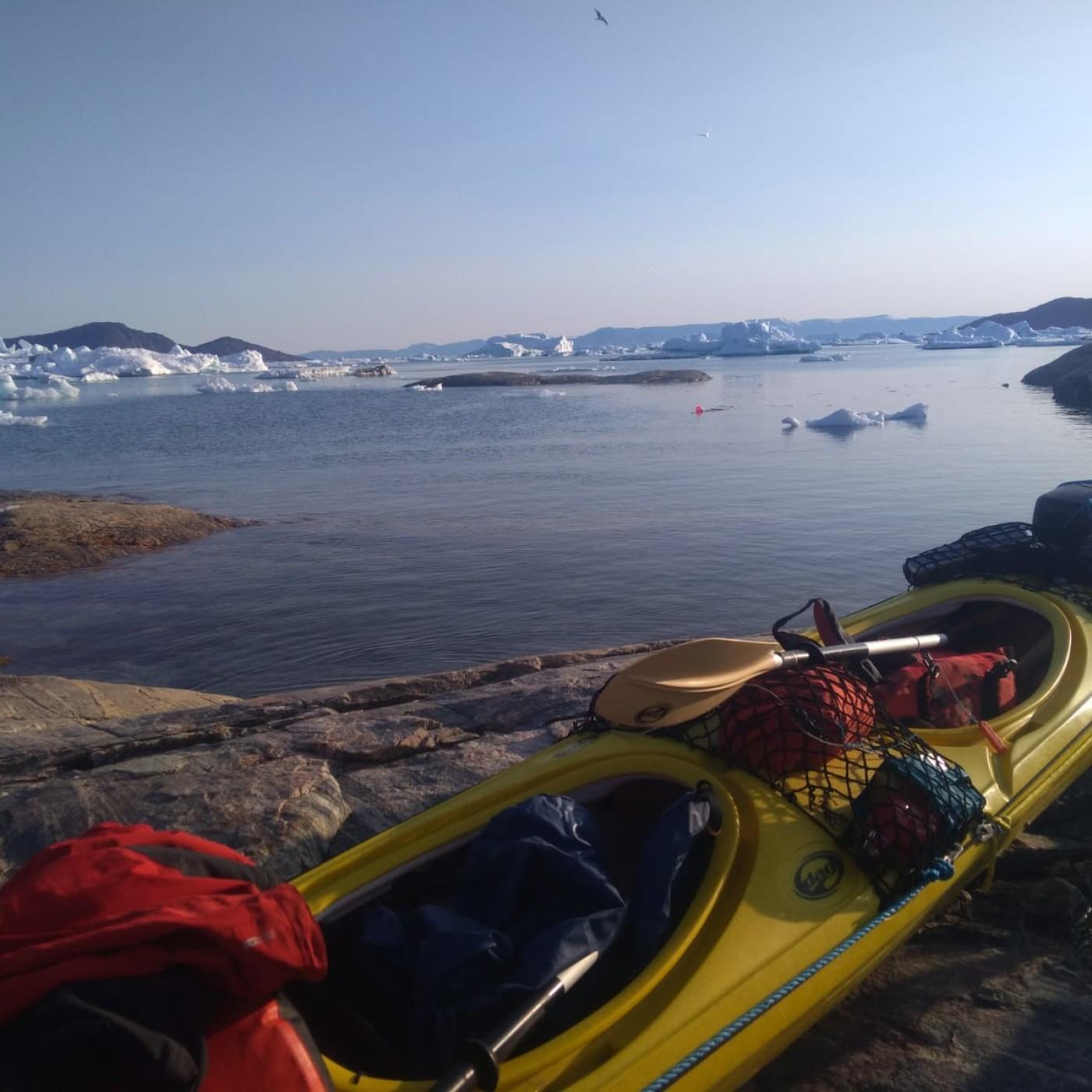 [Extrait] Marie au milieu des glaçons- Quel parcours pour ce périple en kayak ?