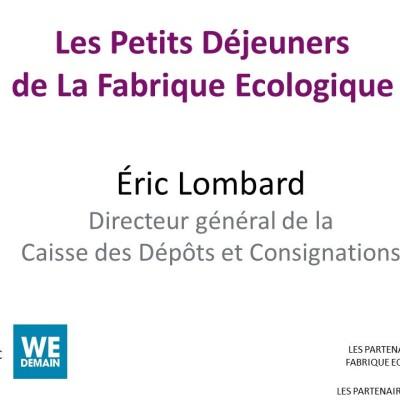 Petit Déjeuner / Eric Lombard cover