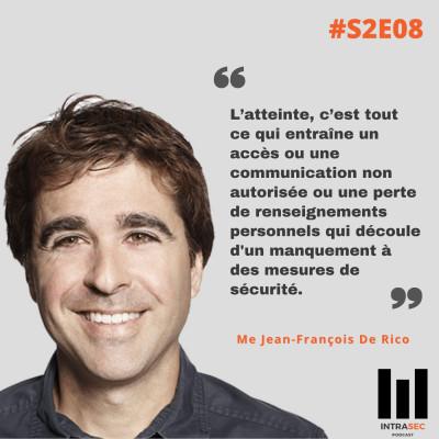 S2E08 - Me Jean-François De Rico - Conférence Forensik 2020 cover