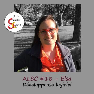 Elsa, développeuse logiciel et heureuse de l'être [ALSC S02E18] cover