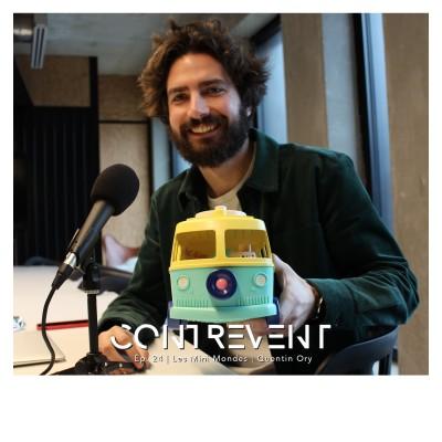 #24 Les Mini Mondes - Quentin Ory - Bousculer l'industrie du jouet pour enfants en moins d'un an - Nantes cover