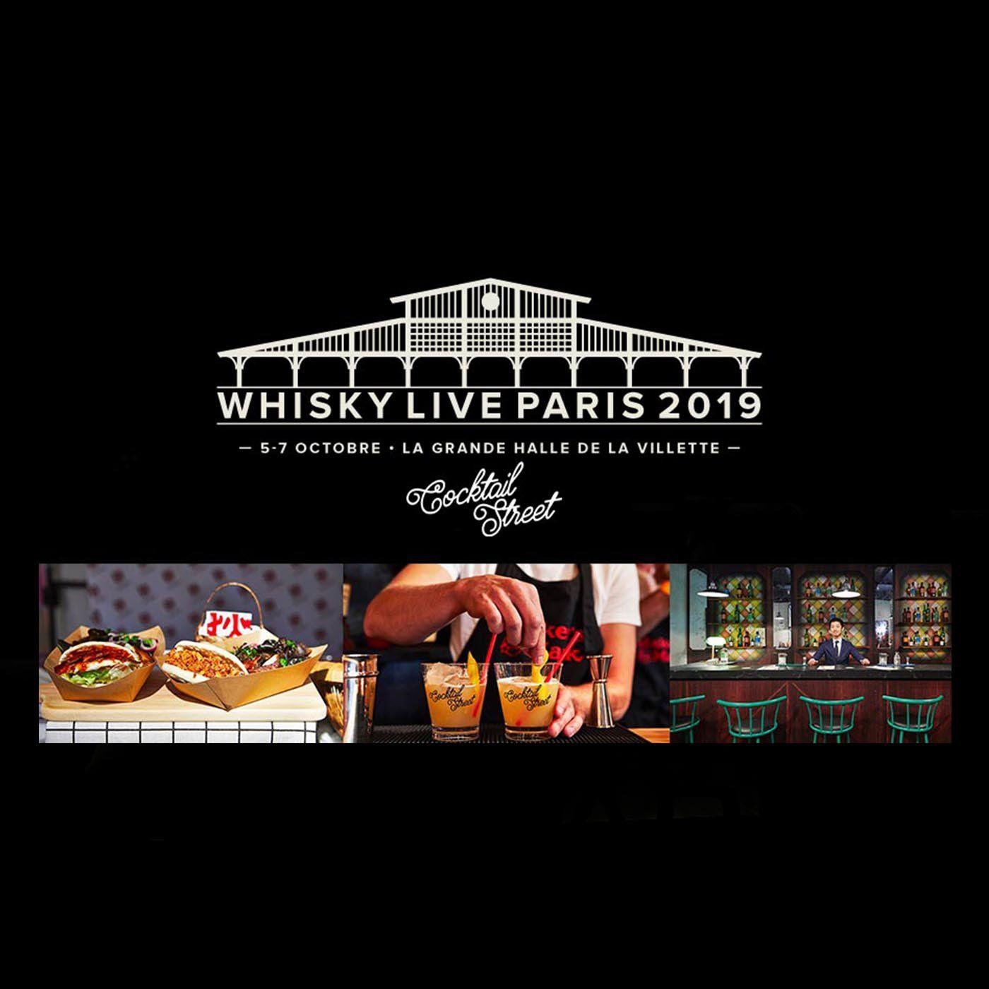 Podcast Infosbar Inside #14 Whisky Live et Cocktail Street 2019
