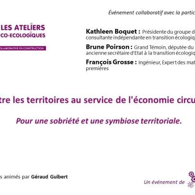 Atelier co-ecologique / Mettre les territoires au service de l'économie circulaire cover