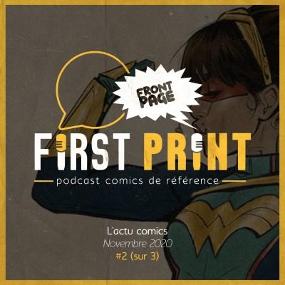 Front Page : l'actualité comics de Novembre 2020 #2 (sur 3) ! cover