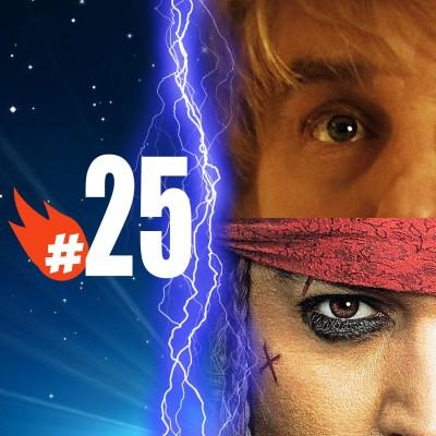 #025 - Mai 2011 - Minuit à Paris, Pirates des Caraïbes 4 cover