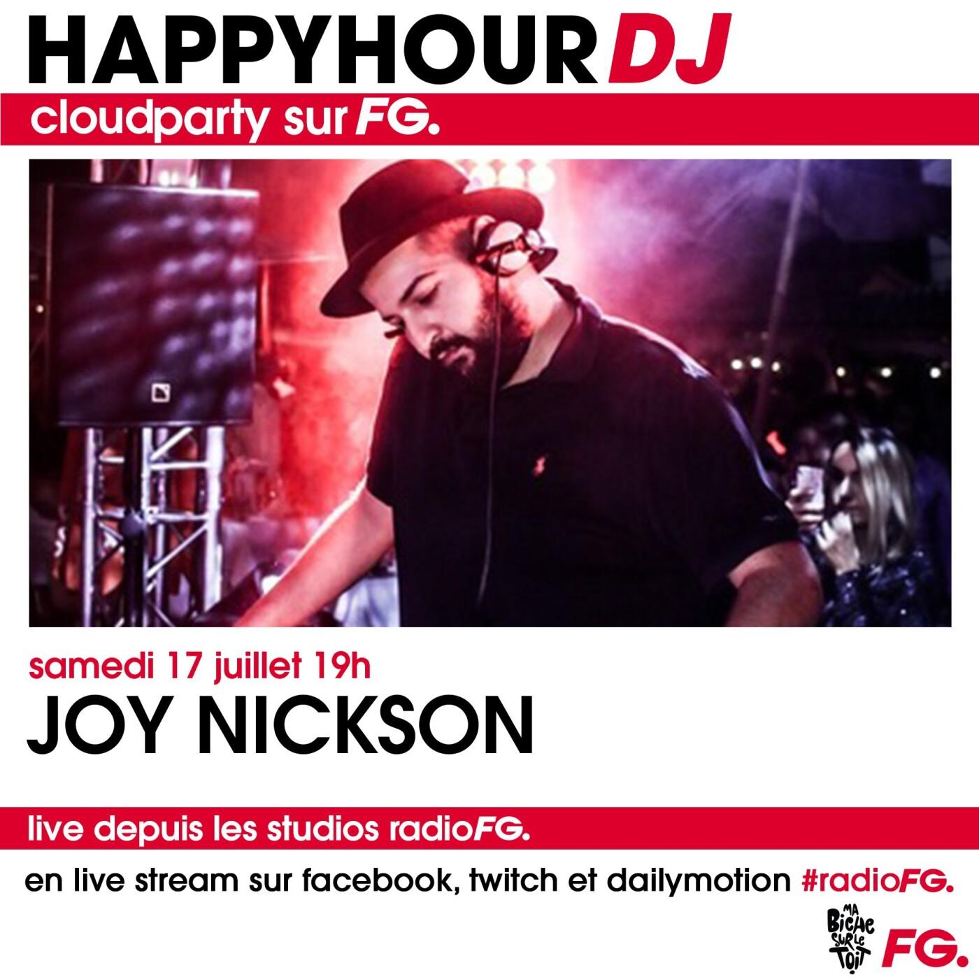 HAPPY HOUR DJ : JOY NICKSON