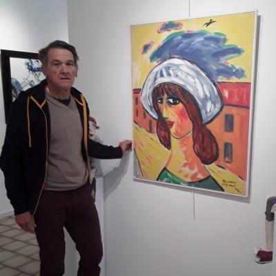 François VALERA nous parle de sa galérie d'art cover
