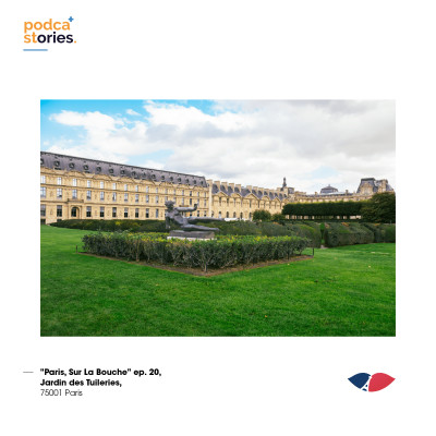 ep. 20, Jardin des Tuileries, 75001 Paris cover