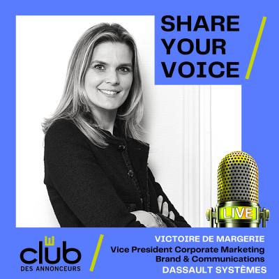 SHARE YOUR VOICE : VICTOIRE DE MARGERIE, DASSAULT SYSTÈMES cover