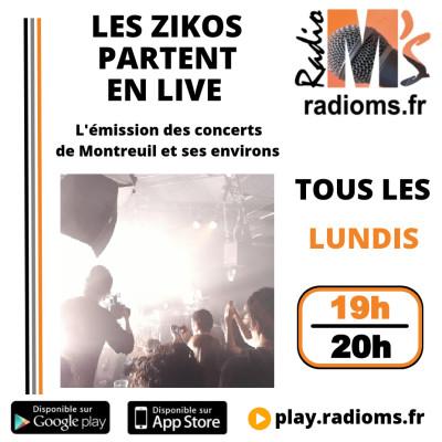 Les Zikos partent en Live #3 - Invités Benjamin Sanz & Naïssam Jalal cover