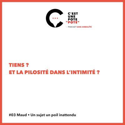 #03 Maud • Un sujet un poil inattendu cover
