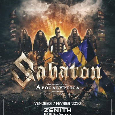 image 213Rock Harrag Melodica Interview with Joakim Broden Sabaton The Great Tour 12 02 2020