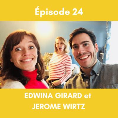 (24) Les SYNCHRONICITES et autres choses ETRANGES (Partie 1) - avec Edwina Girard et Jérôme Wirtz cover