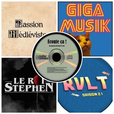 image Ep 35 :  Zikdepod 7 (Passion Médiévistes, Retour Vers Le Turfu, Le Roi Stephen, Giga Musik)