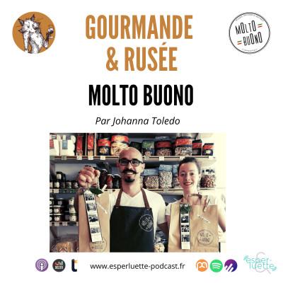 Molto Buono : Le meilleur de l'Italie en Vaucluse - Gourmande & rusée cover