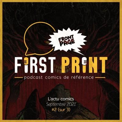 Front Page : l'actualité comics de septembre 2021 #2 (sur 3) ! cover