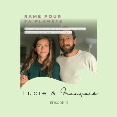 Lucie & François de Rame Pour Ta Planète : des surfeur.euse.s engagé.e.s pour la conservation des océans cover
