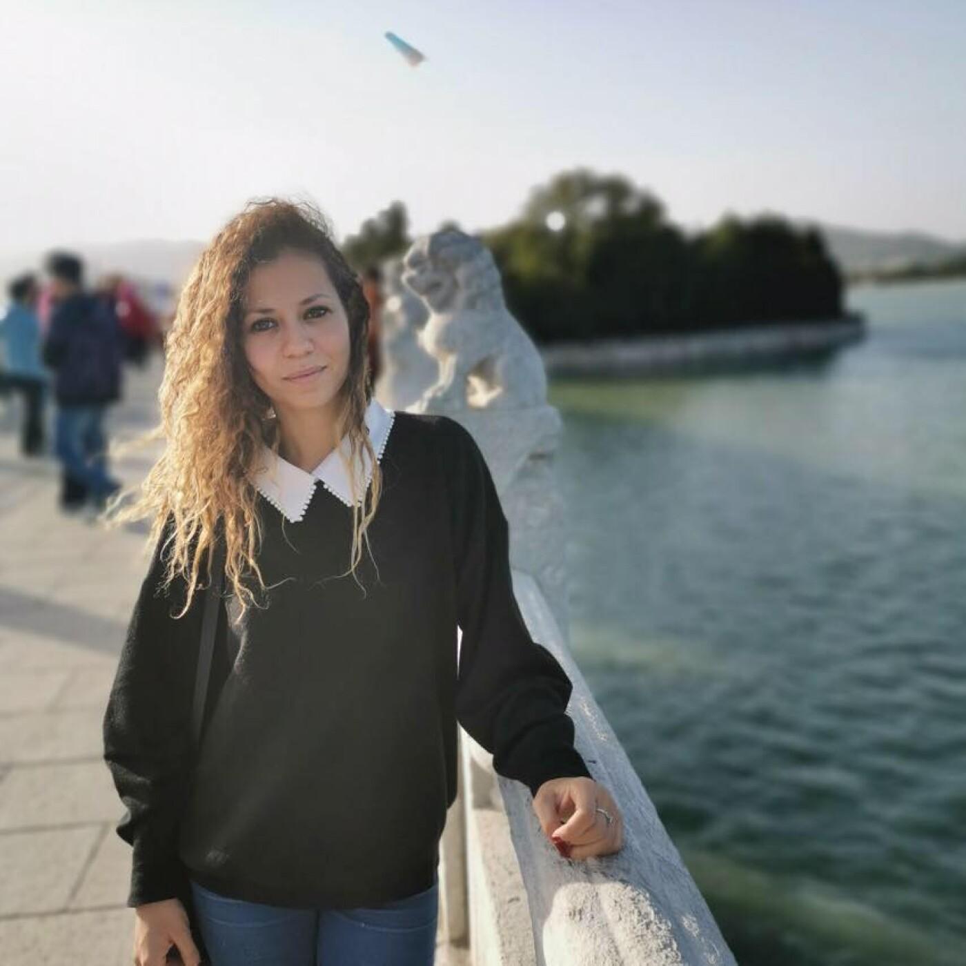 Marie, une française à Bucarest en Roumanie.