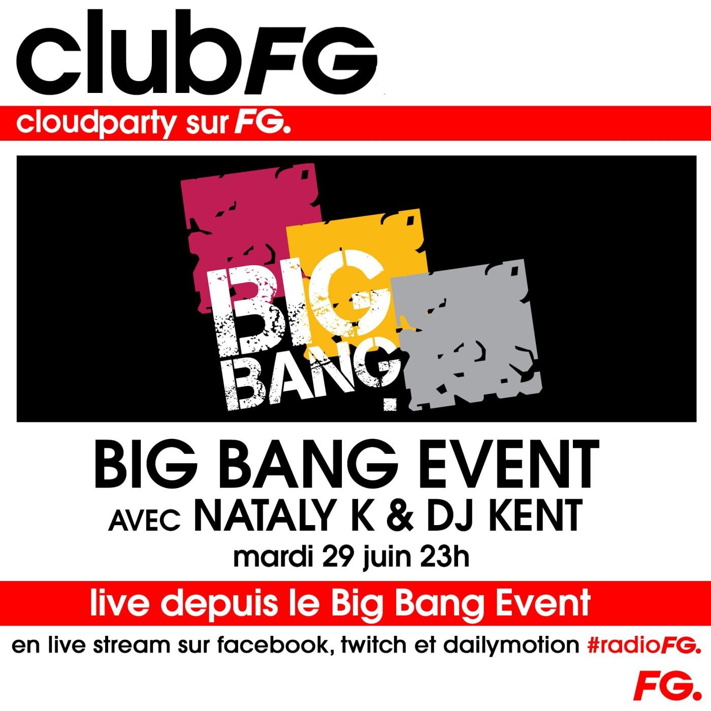 CLOUD PARTY :  BIG BANG EVENT