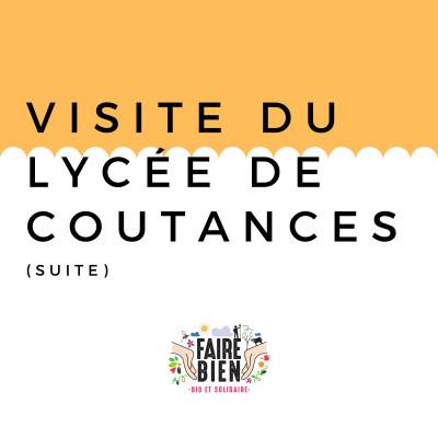 [Visite du Campus métiers nature de Coutances 2/2] Benoît BULOT - Directeur du Campus Métiers nature de Coutances cover
