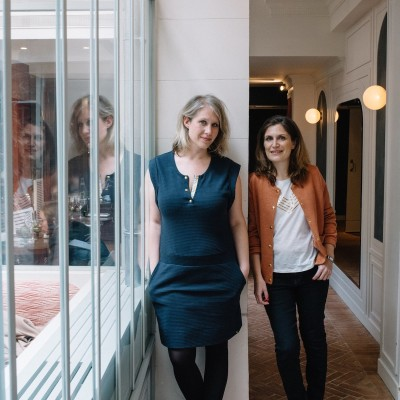 image CARINE ET ANNE-SOPHIE, auteurs d'Instalab, cofondatrices d'Unplugged et Hellø