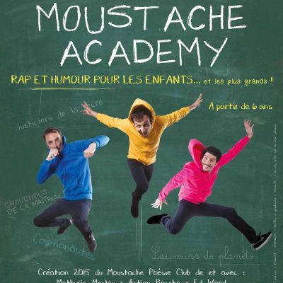 image Moustache Academy - itw E. Woods et M. Meslay - 01 mars 2017