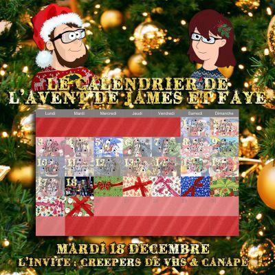 Calendrier de l'avent 18 décembre : Creepers de VHS et Canapé cover
