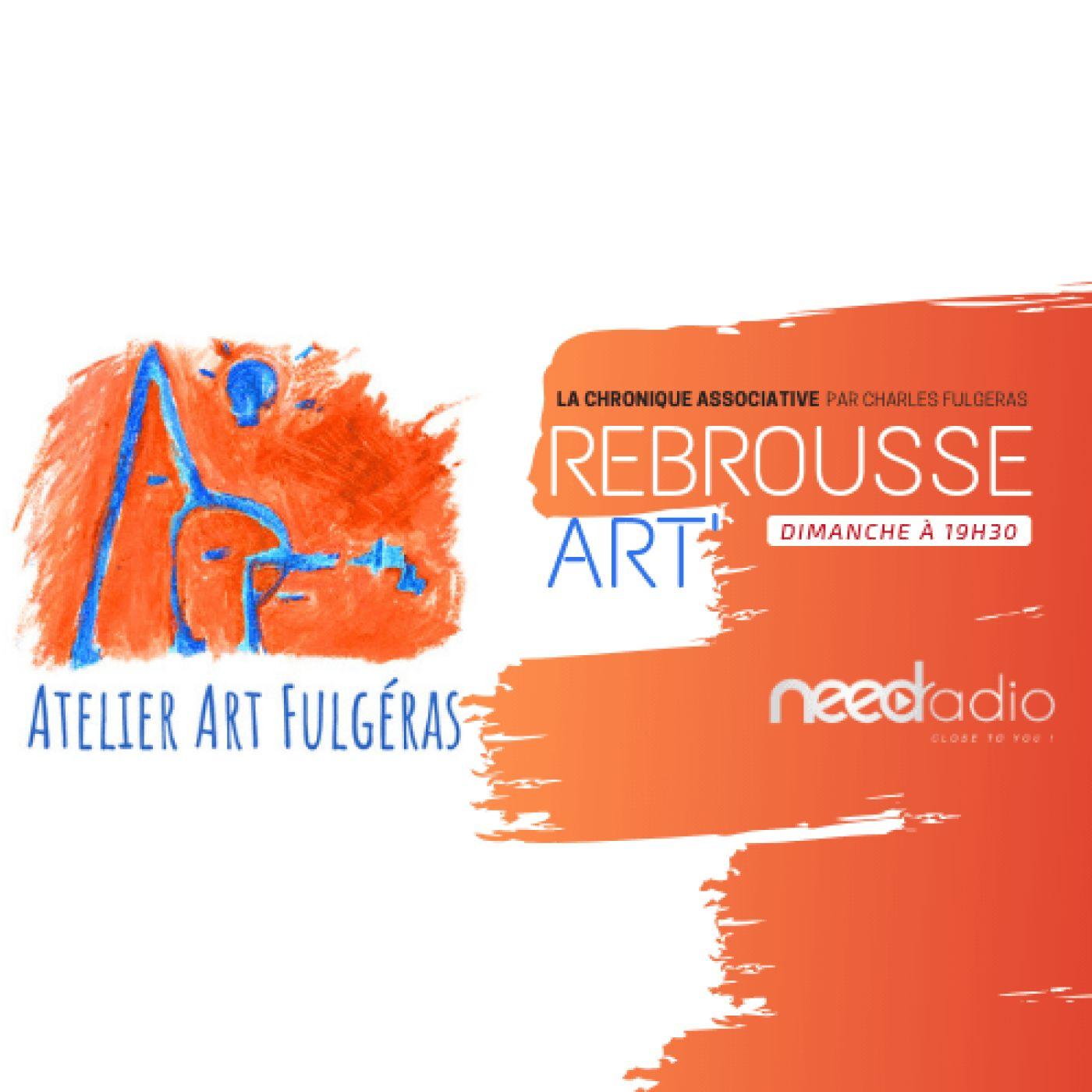 Rebrousse Art' - Histoires de Traces et de Dessins (avec Charles Fulgeras) (12/05/19)