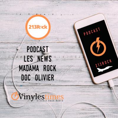 image 213Rock Podcast Harrag Melodica Madama Rock Doc Olivier 25 11 2019 Free app Vinylestimes