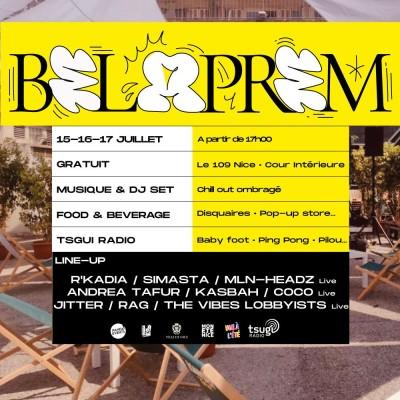 Belaprem : table ronde sur la scène hip-hop niçoise cover