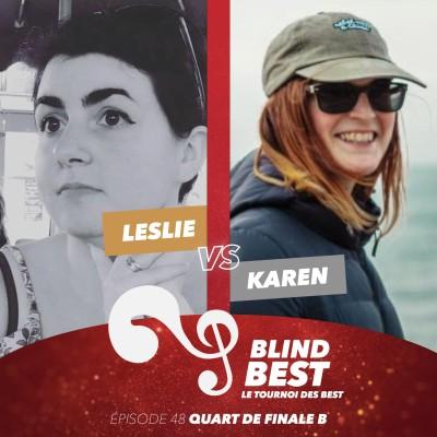 [n°48] Leslie vs. Karen : du sport, des couleurs et des points (Quart de finale B) cover